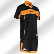 Royal-Trikot-Set - PILOT - Fußball Trikot u. Hose orange