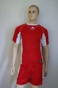14 Fuß-Handball-Trikot-Sets - FEBO von ZEUS rot / weiß L
