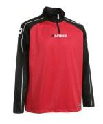 Trainingspullover Granada 101 schwarz / rot