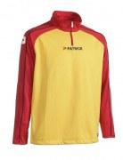 Trainingspullover Granada 101 rot/gelb