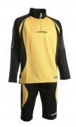 Abverkauf Trainingsanzug Malaga 402  schwarz / gelb