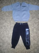 Baby-Trainingsanzug hellblau PIRULLO v.LEGEA