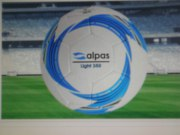 10 x ALPAS  Light-Fußball  Gr. 5 ,350 gr. im Ballsack