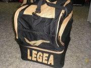Sporttasche  Ciclone  schwarz/gold  von LEGEA