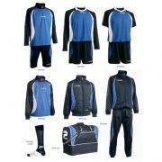 Fußballset -Set Goldkit  13-teilig -royalblau /blau