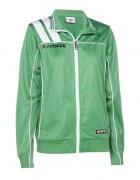 Frauen-Trainingsjacke VICTORA 125  grün / weiß