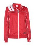 Frauen-Trainingsjacke VICTORA 125  rot / weiß