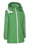 Frauen-Mantel VICTORA 135  grün / weiß