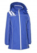 Frauen-Mantel VICTORA 135  royalblau / weiß